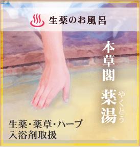 漢方のお風呂 本草閣薬湯