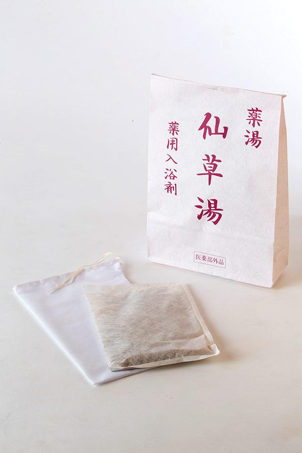 漢方のお風呂 入浴剤「仙草湯」
