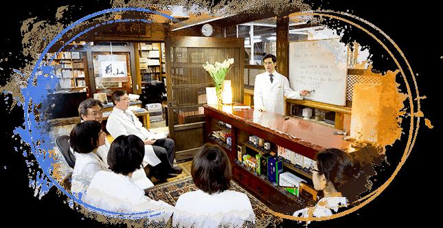 局内による月数回の西洋医学を含めた勉強会や症例検証会の実施