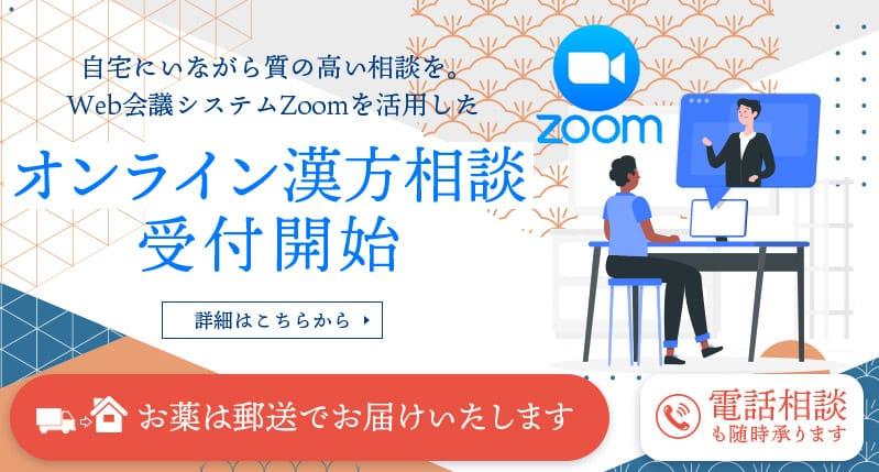自宅にいながら質の高い相談を。Web会議システムZoomを活用したオンライン漢方相談 受付開始
