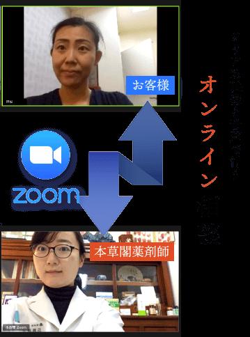 クリアな音声と映像でできる漢方のオンライン相談